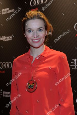 Actress Thekla Reuten attends The Hollywood Reporter party held at Borchardt's Restaurant to celebrate the 2014 Berlin International Film Festival with Studio Babelsberg and Audi,, in Berlin