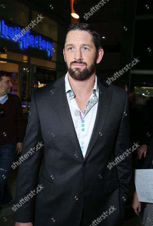 """Wade Barrett at FilmDistrict's World Premiere of """"Dead Man Down"""" held at the ArcLight Hollywood, on in Los Angeles"""