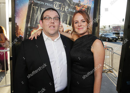 Nick Frost and Producer Nira Park seen at Focus Features Los Angeles Premiere of 'The World's End', on Wednesday, August, 21, 2013 in Los Angeles