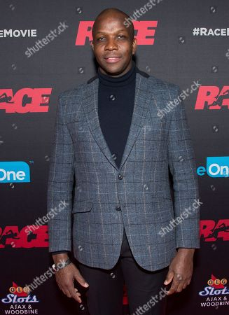 """Editorial image of Focus Features Premiere of """"Race"""", Toronto, Canada - 11 Feb 2016"""