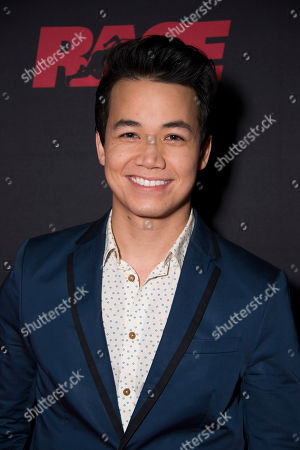 "Stock Image of Actor Shannon Kook seen at the Focus Features premiere of ""Race"", in Toronto"