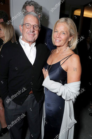 "Ron Meyer, Vice Chairman of NBCUniversal, and Kelly Meyer seen at Focus Features Los Angeles Special Screening of ""Nocturnal Animals"" after party at Hammer Museum, in Los Angeles"