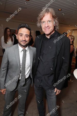 "Stock Image of Director J.A. Bayona and Executive Producer Bill Pohlad seen at Focus Features' ""A Monster Calls"" premiere at the 2016 Toronto International Film Festival, in Toronto"
