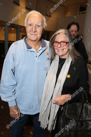 Stock Image of Robert Loggia and Audrey Loggia seen at Fox 2000 Pictures special screening of 'The Book Thief' held at the Simon Wisenthal Center's Museum of Tolerance, on Saturday, Nov, 2, 2013 in Los Angeles