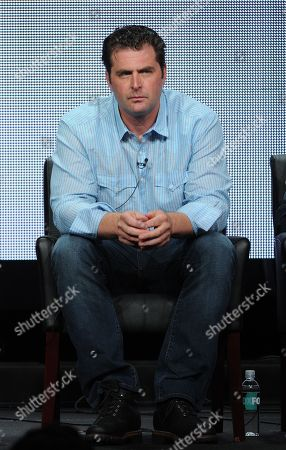 "Executive producer Elwood Reid participates in ""The Bridge"" panel at the FX 2013 Summer TCA press tour at the Beverly Hilton Hotel on in Beverly Hills, Calif"