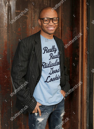 Stock Picture of Eugene Byrd attends the FX Summer Comedies Party at Lure on in Los Angeles