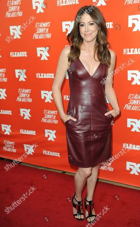 Jackie Marcus Schaffer arrives at the FXX Network Launch Party at Lure on in Los Angeles