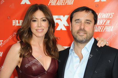 Jackie Marcus Schaffer, left, and Jeff Schaffer arrive at the FXX Network Launch Party at Lure on in Los Angeles