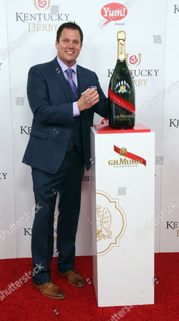 Stock Picture of Bob Guiney attends the G.H. Mumm Champagne event at the Kentucky Derby, in Louisville, Ky
