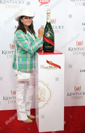 Terri Clark attends the G.H. Mumm Champagne event at the Kentucky Derby, in Louisville, Ky