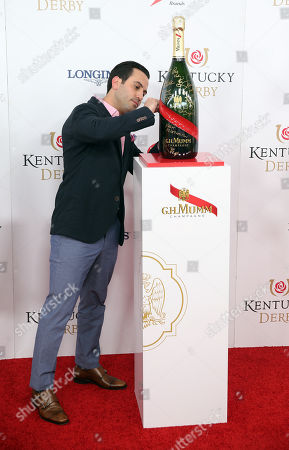 Stock Photo of Daniel DeSanto attends the G.H. Mumm Champagne event at the Kentucky Derby, in Louisville, Ky