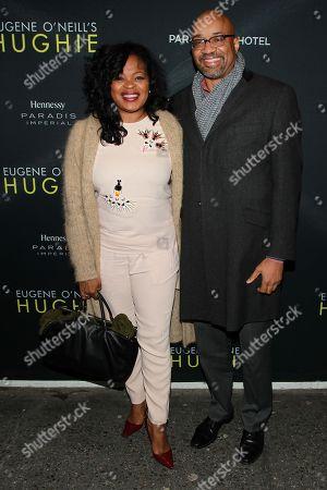 "Editorial image of Hennessy Prestige Presents Opening Night of Eugene O'Neill's ""Hughie"", New York, USA - 25 Feb 2016"