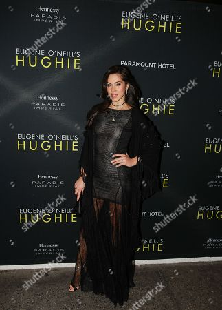 """Eleonora Pieroni is seen at Hennessy Prestige presents Opening Night of Eugene O'Neill's """"Hughie"""" at the Booth Theater on in New York"""