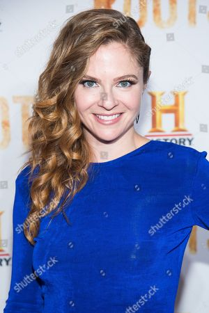 """Stock Photo of Shannon Lucio attends History Channel's """"Roots"""" mini-series premiere at Alice Tully Hall, in New York"""