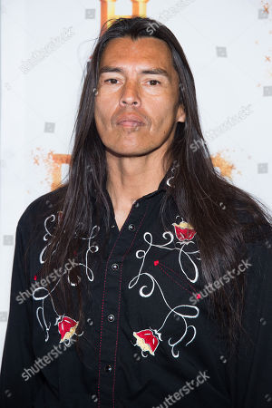 """David Midthunder attends History Channel's """"Roots"""" mini-series premiere at Alice Tully Hall, in New York"""