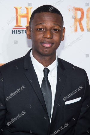 """Donald Watkins attends History Channel's """"Roots"""" mini-series premiere at Alice Tully Hall, in New York"""