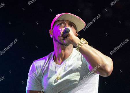 Mystikal performs during the Hot 107.9 Birthday Bash 20 at Philips Arena, in Atlanta
