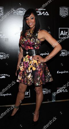 Mimi Faust attends the House of Hype Music Awards at the Beverly Hills Hotel, in Beverly Hills, Calif