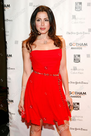Editorial image of IFP Gotham Awards, New York, USA - 26 Nov 2012