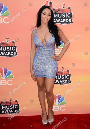 Editorial image of iHeartRadio Music Awards - Arrivals, Los Angeles, USA - 1 May 2014