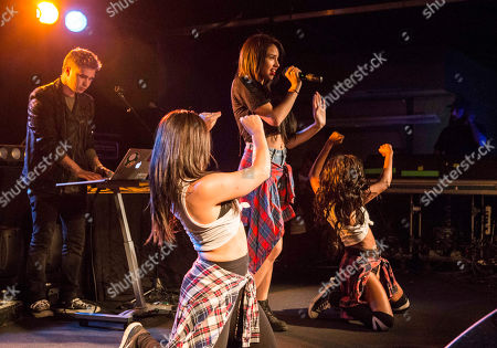 Stock Image of Jasmine V performs during the Jake Miller: Dazed & Confused Tour at The Loft, in Atlanta