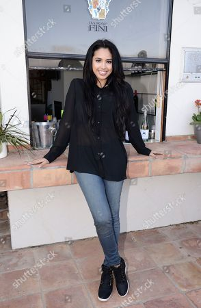 Singer Jasmine V at the JustFab Beach House presented by Gevalia Iced Coffee with Almond Milk on Monday, July 6, in Malibu, Calif