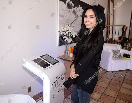 Singer Jasmine V performs at the JustFab Beach House presented by Gevalia Iced Coffee with Almond Milk on Monday, July 6, in Malibu, Calif