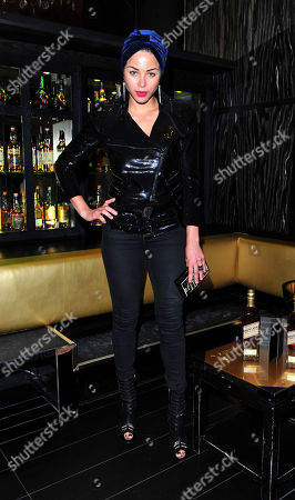 Ana Araujo arrives at Johnnie Walker Gold Label Reserve Launch at Whisky Mist on in London