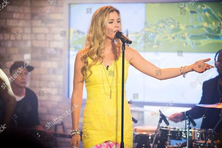 Editorial photo of Joss Stone Visits The Marilyn Denis Show, Toronto, Canada - 8 Jul 2015