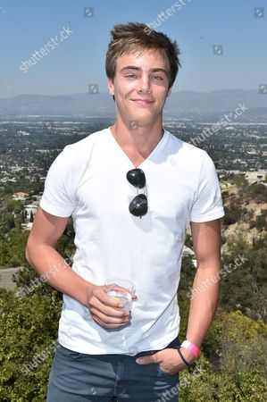 Kevin Quinn attends the Just Jared 4th Annual Summer Bash presented by Uno, in Beverly Hills, Calif