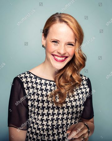 """Actress Katie LeClerc from ABC Family's """"Switched at Birth"""" poses for a portrait in New York"""
