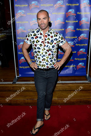 Louis Spence poses at the Keith Lemon: The film UK Premiere Afterparty at the Planet Hollywood on in London