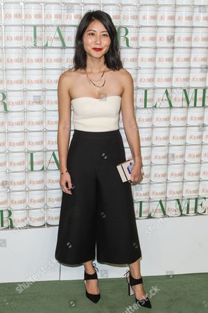"Alice Gao attends the La Mer ""Celebration of an Icon"" Event at Siren Studios, in Los Angeles"