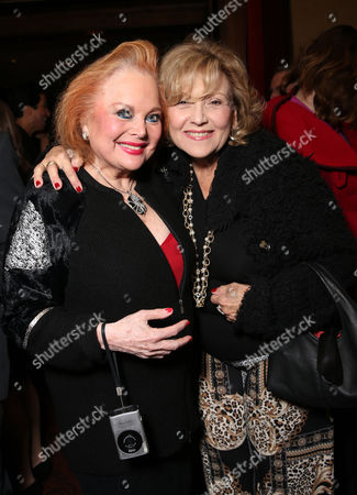 Carol Connors and Brenda Vaccaro attend LA Opera's Hercules vs Vampires Opening Night at the Dorothy Chandler Pavilion on in Los Angeles