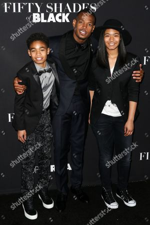 """Editorial photo of LA Premiere of """"50 Shades of Black"""" - Arrivals, Los Angeles, USA - 26 Jan 2016"""