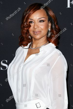 "Stock Photo of LisaRaye McCoy-Misick attends the LA Premiere of ""50 Shades of Black"" held at Regal L.A. Live, in Los Angeles"