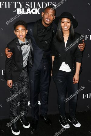 """Editorial image of LA Premiere of """"50 Shades of Black"""" - Arrivals, Los Angeles, USA - 26 Jan 2016"""