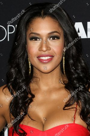 "Kali Hawk attends the LA Premiere of ""50 Shades of Black"" held at Regal L.A. Live, in Los Angeles"