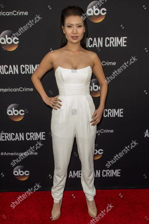 """Stock Image of Gwendoline Yeo attends the LA Premiere of """"American Crime"""" on in Los Angeles"""