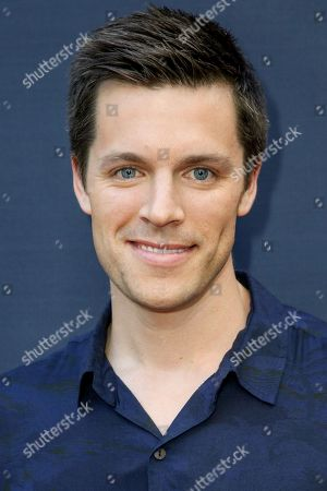 """Nick Jandl arrives at the LA Premiere of """"Amy"""" at The Theater at Arclight Cinemas Hollywood, in Los Angeles"""