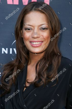 """Keisha Whitaker arrives at the LA Premiere of """"Amy"""" at The Theater at Arclight Cinemas Hollywood, in Los Angeles"""