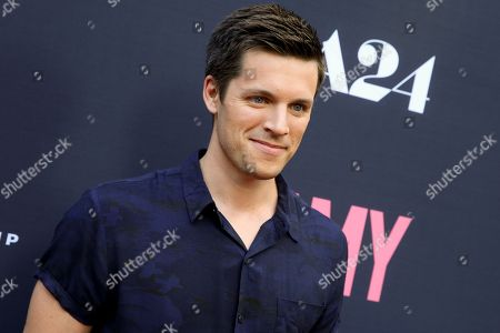 """Stock Picture of Nick Jandl arrives at the LA Premiere of """"Amy"""" at The Theater at Arclight Cinemas Hollywood, in Los Angeles"""