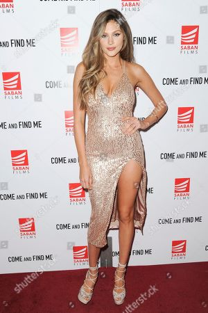 """Natalie Pack attends the LA Premiere of """"Come and Find Me"""" at Pacific Theatres at the Grove, in Los Angeles"""