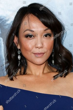 """Naoko Mori attends the LA Premiere of """"Everest"""" held at the TCL Chinese Theatre IMAX, in Los Angeles"""