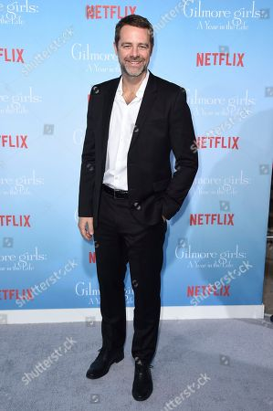 "David Sutcliffe arrives at the premiere of ""Gilmore Girls: A Year In The Life"" on in Los Angeles"