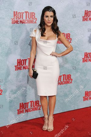 """Bianca Haase arrives at the LA Premiere Of """"Hot Tub Time Machine 2"""" held at the Regency Village Theater, in Los Angeles"""