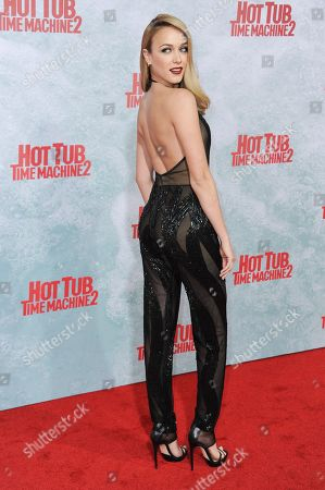 """Mariana Paola Vicente arrives at the LA Premiere Of """"Hot Tub Time Machine 2"""" held at the Regency Village Theater, in Los Angeles"""