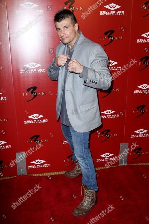 """Danny Musico arrives at the Premiere of """"Ip Man 3"""" at Pacific Theatres at The Grove, in Los Angeles"""