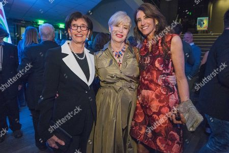 "Stock Photo of Sandra Rudnick, from left, Melinda Ledbetter and Claire Rudnick Polstein attend the LA Premiere Of ""Love & Mercy"" After Party at the Samuel Goldwyn Theater, in Beverly Hills, Calif"
