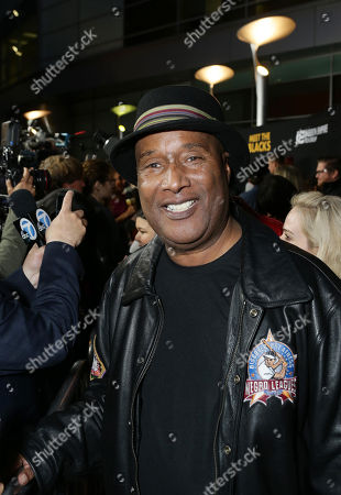 """Stock Image of Paul Mooney seen at """"Meet the Blacks"""" Premiere at the ArcLight Hollywood, in Hollywood, Calif"""